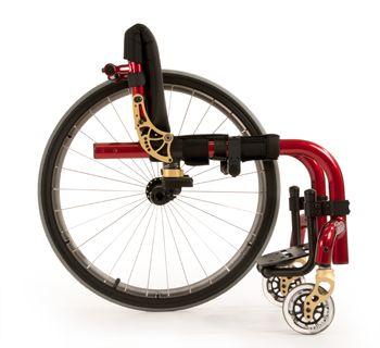 Ironman colors!>>> See it. Believe it. Do it. Watch thousands of spinal cord injury videos at SPINALpedia.com