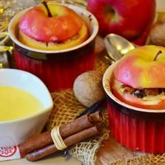 Baked Apple On A Stick – The Kitchen Kettle
