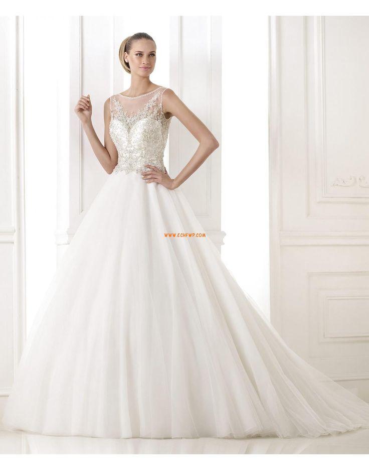 A-vonalú Seprő uszály Hímzés Menyasszonyi ruhák 2015
