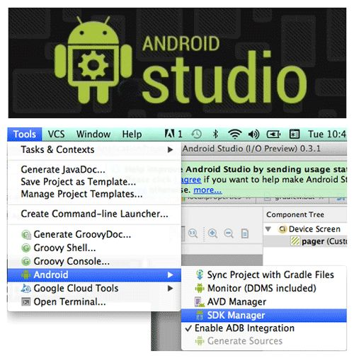 How to make an app with Android Studio