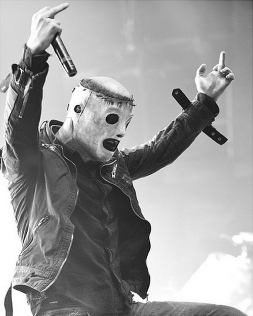 Corey Taylor of Slipknot.