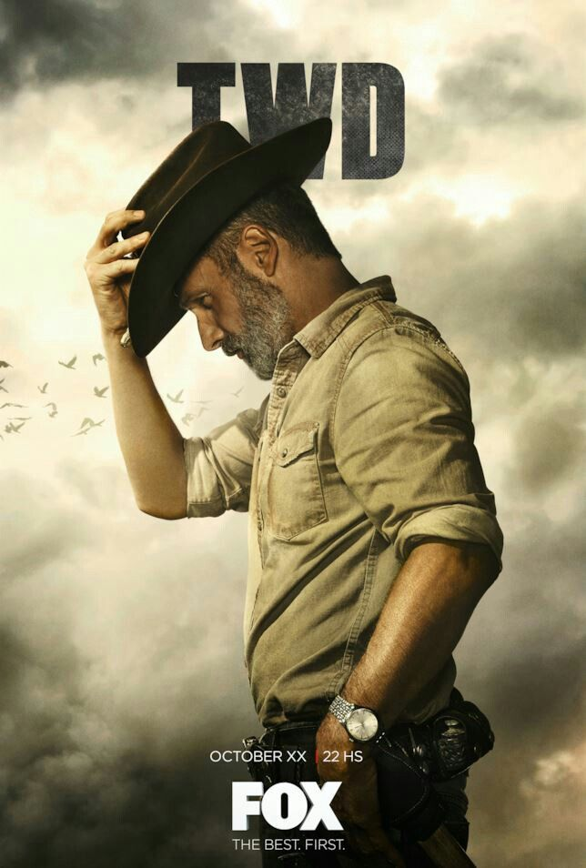 THE WALKING DEAD TV Show PHOTO Print POSTER Series Rick Grimes Andrew Lincoln 22
