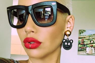 Odell Beckham Jr's girlfriend Amber Rose-Instagram