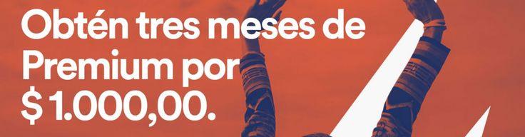 Activa Spotify Premium por 3 meses por solo 1.000 pesos en Colombia