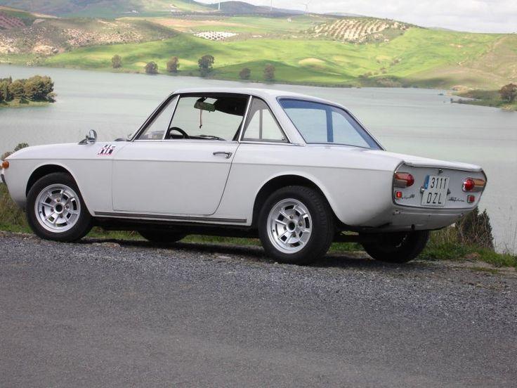 WHITE Lancia Fulvia 1.3 Rallye 1969