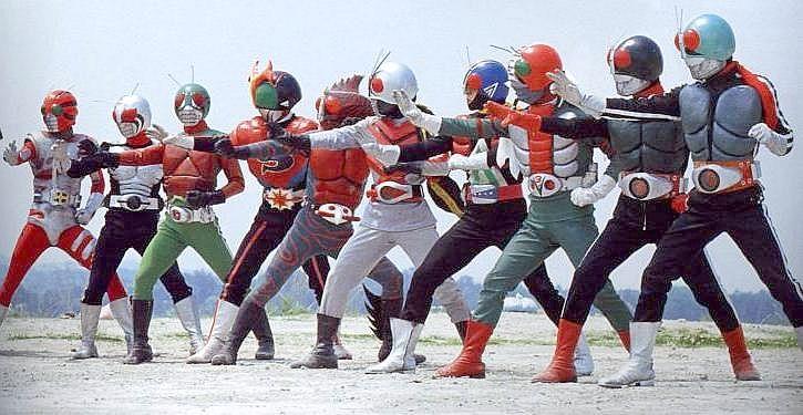 Kamen Riders (Masked Riders)... they were my heros!