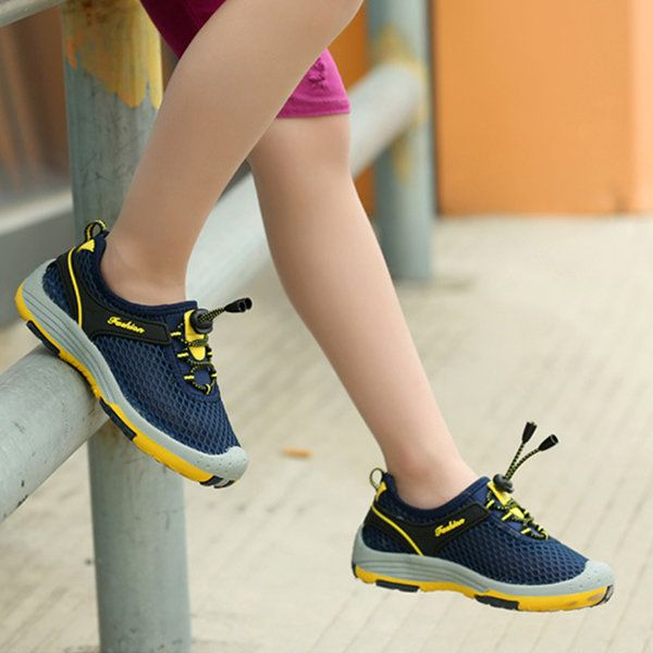 Boys Breathable Adjustable Anti-collision Outdoor Hiking Sneakers