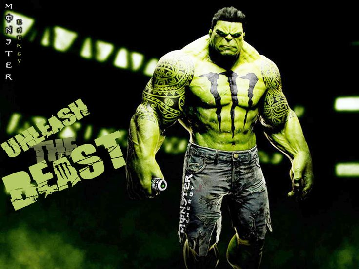 Hulk Energy Drink