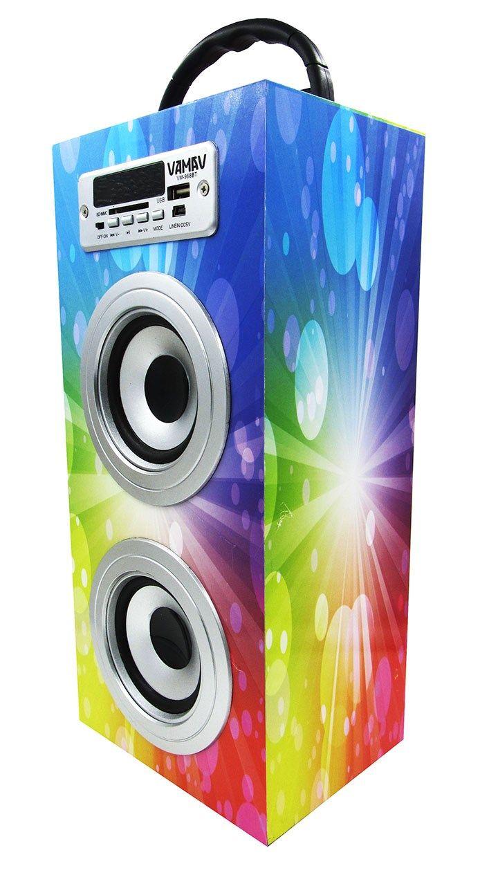 Altavoz Caja Portátil con Bluetooth, Radio, SD, USB, MP3, Inalámbrico y Con Batería Recargable 996111 - http://complementoideal.com/producto/altavoz-caja-portatil-con-bluetooth-radio-sd-usb-mp3-inalambrico-y-con-bateria-recargable-996111/  -  Altavoz Portátil Bluetoothcon el que podrás escuchar toda tu música sin necesidad de cables y en cualquier lugar, conecta todos tus dispositivos mediante la tecnologíaBluetooth fácilmente y comienza a divertirte. Alta