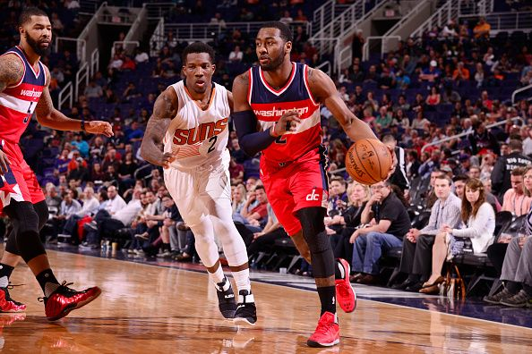 Working hard? Or hardly working? Two rhetorical questions that Wizards should ask themselves after they defeated the Suns to open their West Coast road trip. This game was all over the spectrum; from one extreme to another.   #Bradley Beal #John Wall