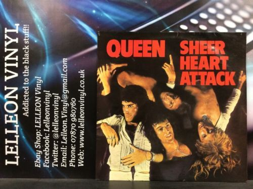 Queen Sheer Heart Attack LP Album Vinyl Record EMC3061 Rock 70's Freddie Mercury Music:Records:Albums/ LPs:Rock:Classic