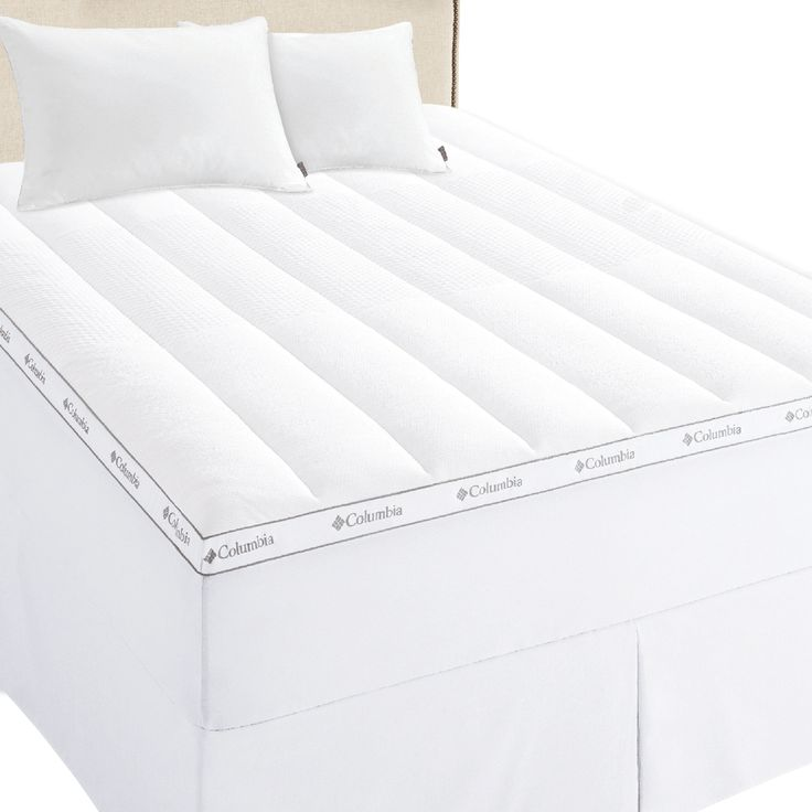 Columbia Ice Fiber Cooling 3 In Mattress Topper With Images Mattress Topper Mattress