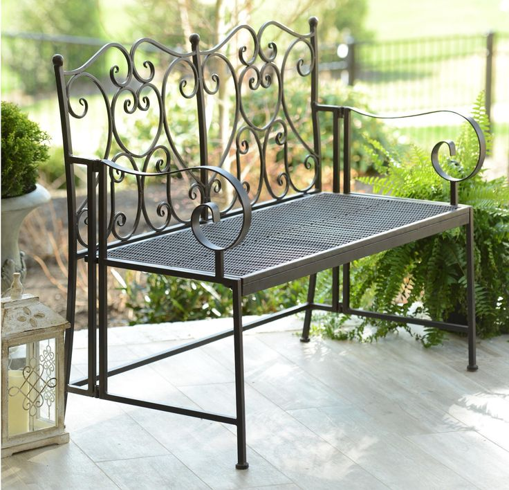 Even though it's getting cold outside, it's always a good time to help her decorate her outdoor space! The Bronze Heart Metal Outdoor Bench is a great gift for her patio, porch or garden!