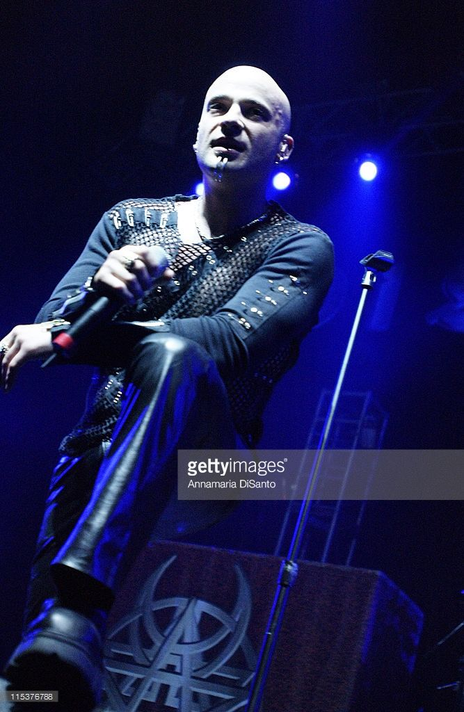 David Draiman of Disturbed.