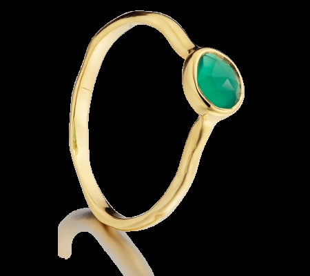 Monica Vinader's ring...simple and eye catching!