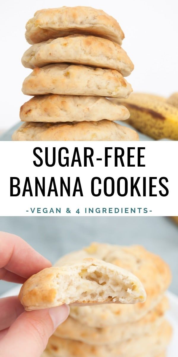 You'll only need 4 ingredients for these Banana Co…
