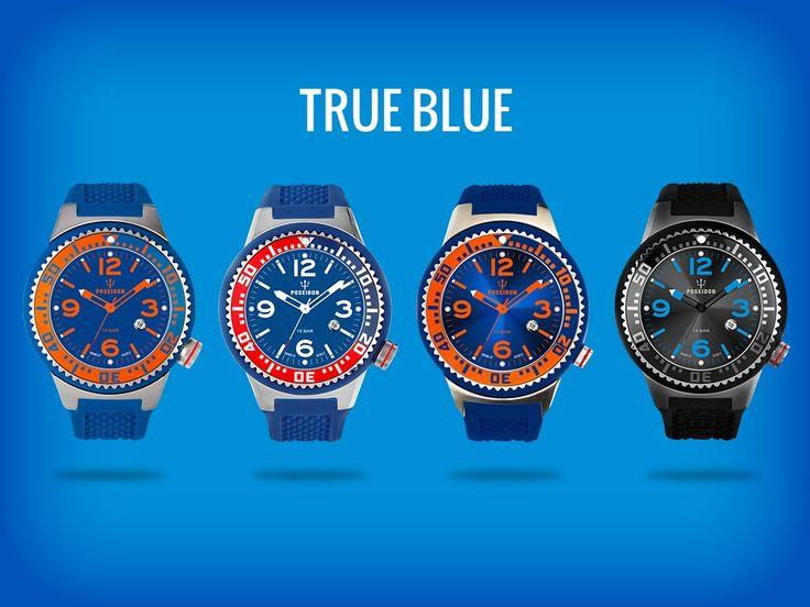 TRUE BLUE POSEIDON watch