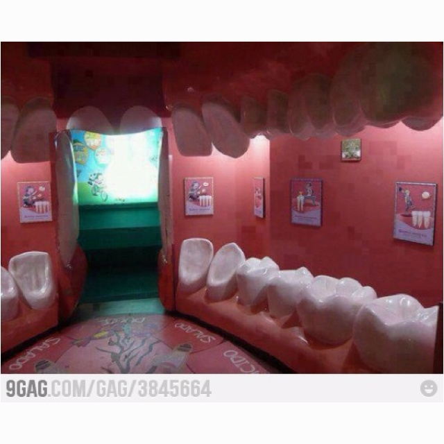 Epic dental clinic !! @Aimée Gillespie Ayers This reminded me of you