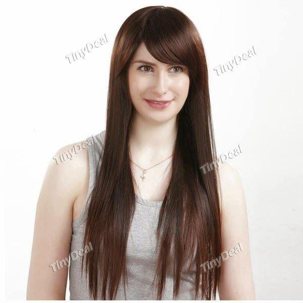Интернет - магазины : Все для женской красоты, женский парик, длинные, п...