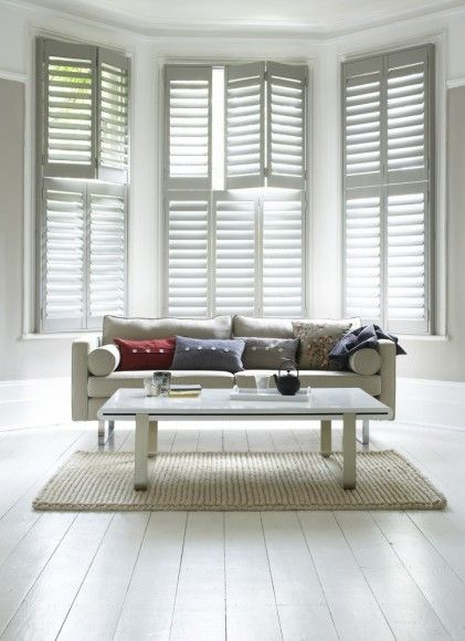 tier on tier plantation shutters for LR, DR and MBR