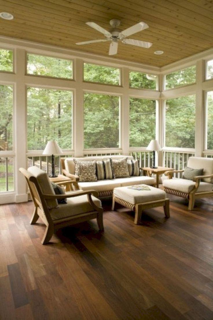 Wonderful Screened In Porch And Deck Idea 20   Porch furniture ...