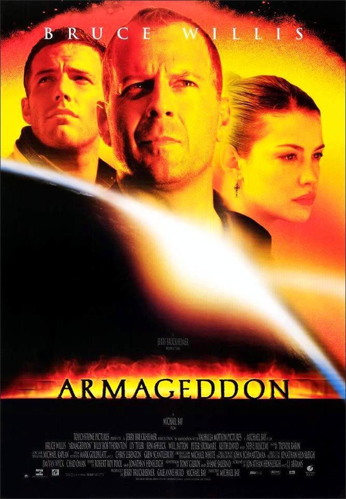 Armageddon Movie Poster (1998)