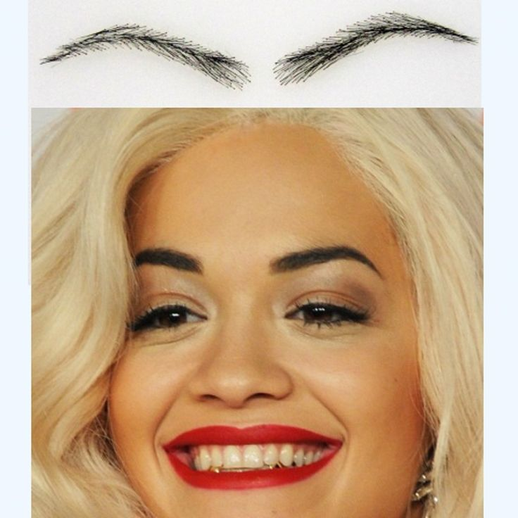 Wigs Eyebrows Stencils 54