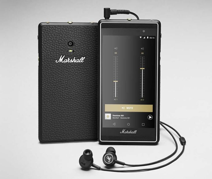 Marshall Develops Smartphone Designed Like One of Their Amps - Core77
