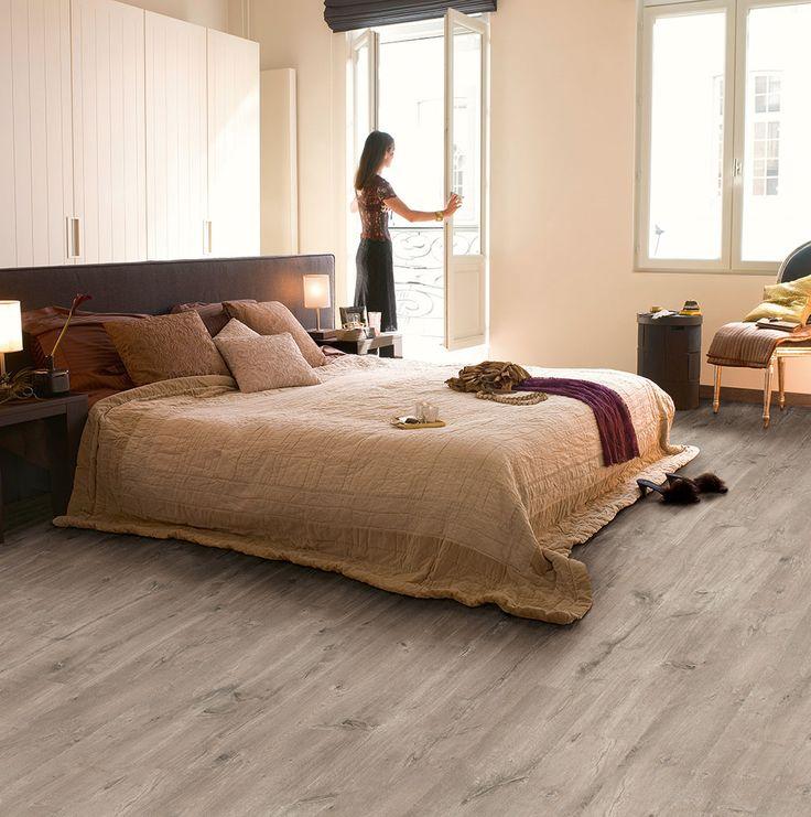 Quick Step Eligna Wide U0027Caribbean Oak Greyu0027 (UW1536) Laminate Flooring