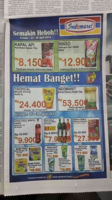 Shopping @Indomaret