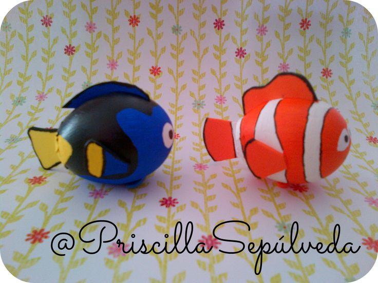 Dory & Nemo Easter eggs