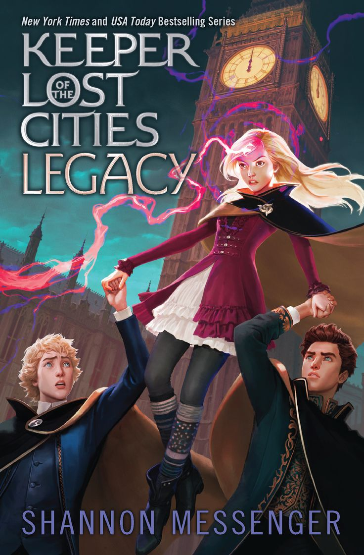 LEGACY (Keeper of the Lost Cities #8) on sale 11/5/19