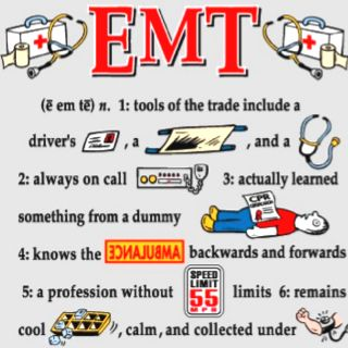 go through EMT training (even if I do nothing with it) and drive an ambulance at least once =)