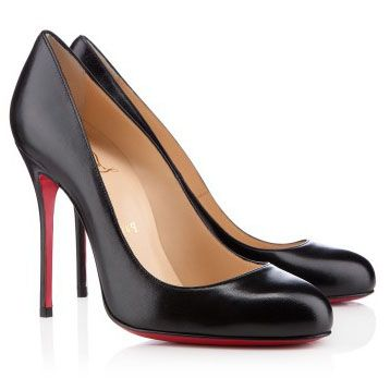 Christian Louboutin Fifi 100mm Lederen Pumps Zwart