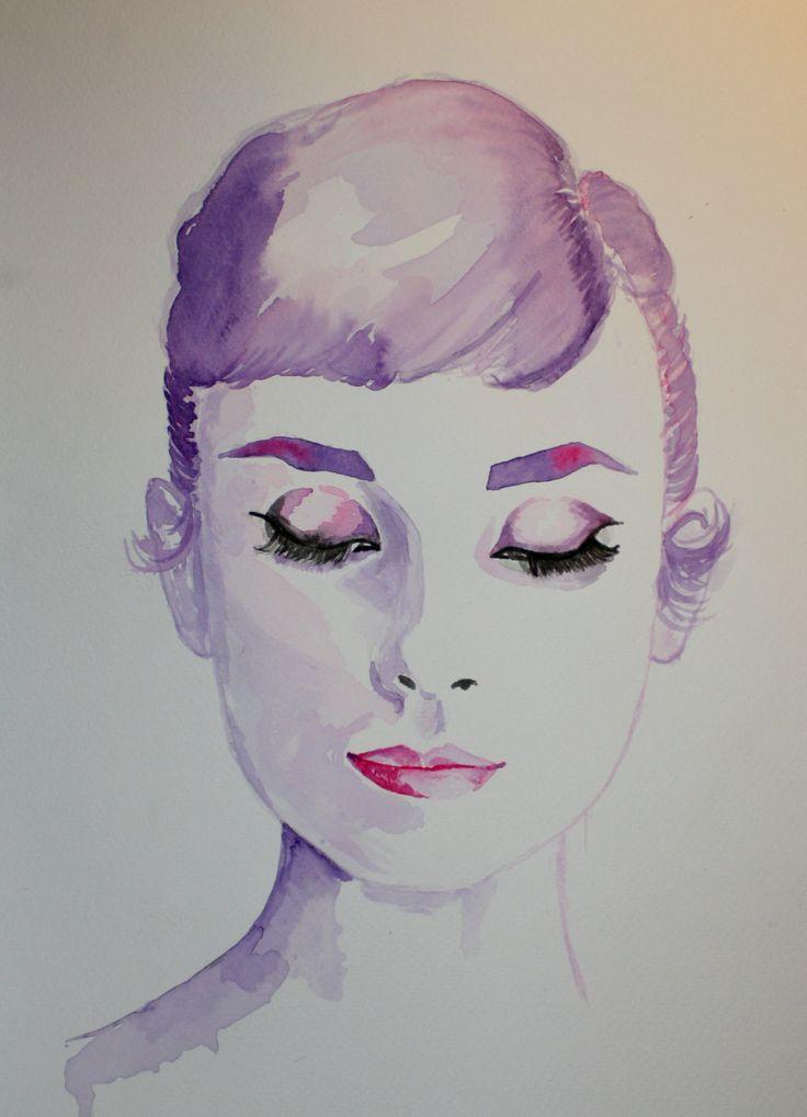 Watercolor Audrey                                                                                                                                                                                 More