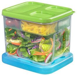 Rubbermaid LunchBlox Salad Kit contemporary food containers and storage