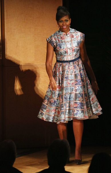Michelle Obama Photos - The First Lady Visits London As Part Of Her Let Girls Learn Initiative - Zimbio