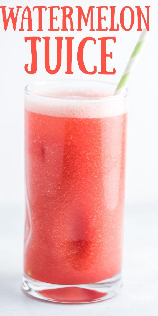 Watermelon Juice Watermelon Juice Recipe Watermelon Juice Juice Flavors