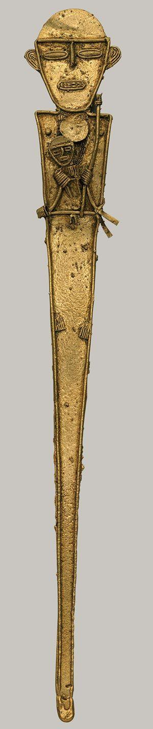 Figura Femenina (Tunjo) [Muisca] (1979.206.1050) | Heilbrunn Cronología de Historia del Arte | El Museo Metropolitano de Arte