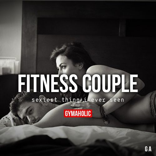 gymaaholic:  Fitness Couple Sexiest thing I ever seen! http://www.gymaholic.co