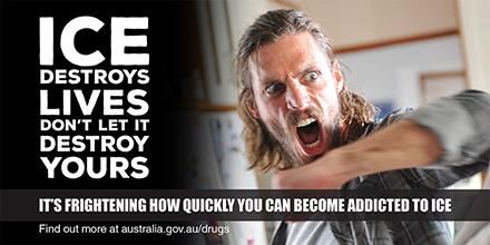 Ice tears families apart. Don't let it destroy yours. Find out more about Ice at http://australia.gov.au/drugs