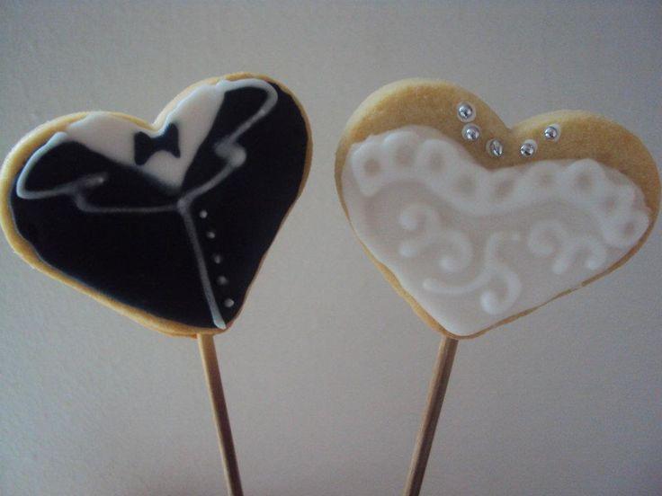 recuerdo para un matrimonio en cookies