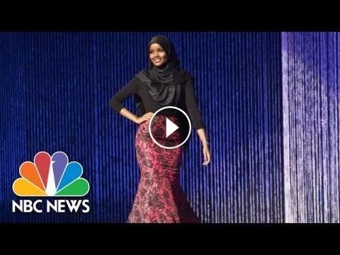 Teen Becomes First Contestant To Wear Hijab In Miss Minnesota USA Pageant | NBC News: Halima Aden competed for the title of Miss Minnesota…
