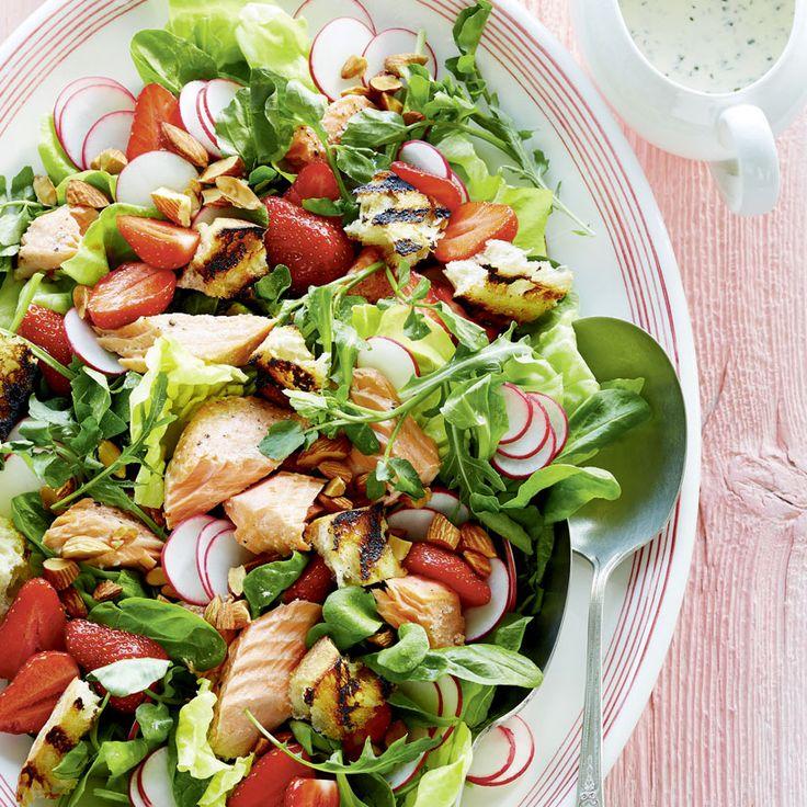les 105 meilleures images du tableau salades pinsant sur pinterest recette salade cuisiner. Black Bedroom Furniture Sets. Home Design Ideas