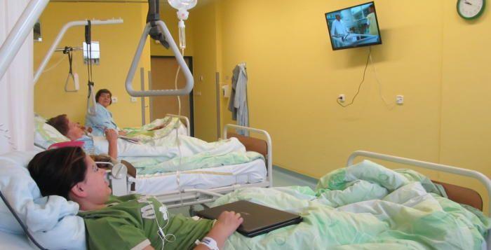 Nemocnice obměňuje televizory