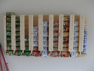 Amy and Toby: Canned Food Storage Rotation Racks