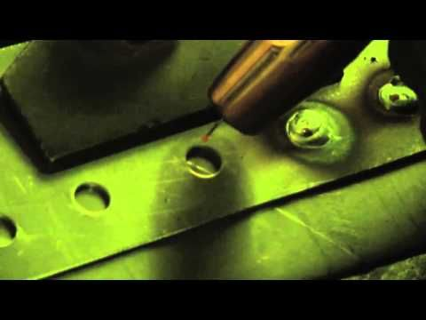 How to weld (Plug/Spot and Fill Weld Body Panels) - YouTube