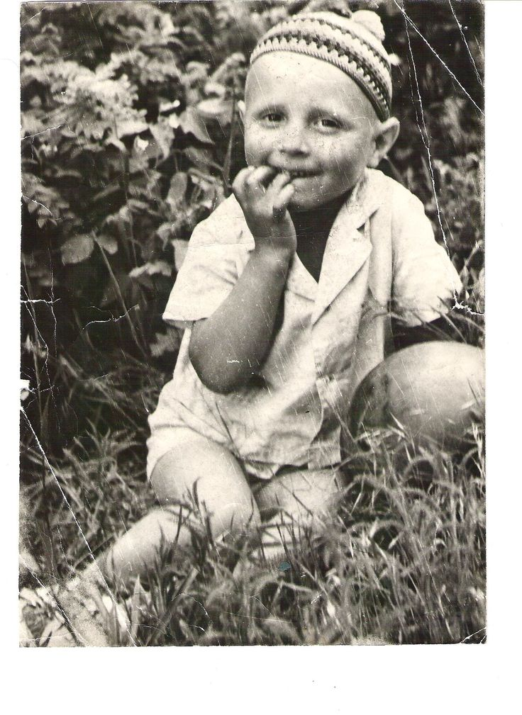 Dad as a little boy :)