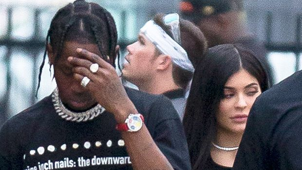 Inset dramatic music. Tyga would love nothing more than to confront Kylie Jenner's new man, Travis Scott, when their European tour dates criss cross, HollywoodLife.com has EXCLUSIVELY learned.   This could be the epic showdown fans been waiting for.   #hollywood celebs news #hollywood entertainment #hollywood life