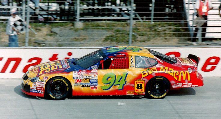 Matt Kenseth filling in for Bill Elliott @ Dover September 1998
